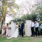 Wedding at Montville Country Cabins