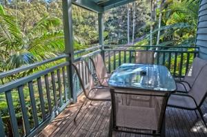 Peaceful verandah