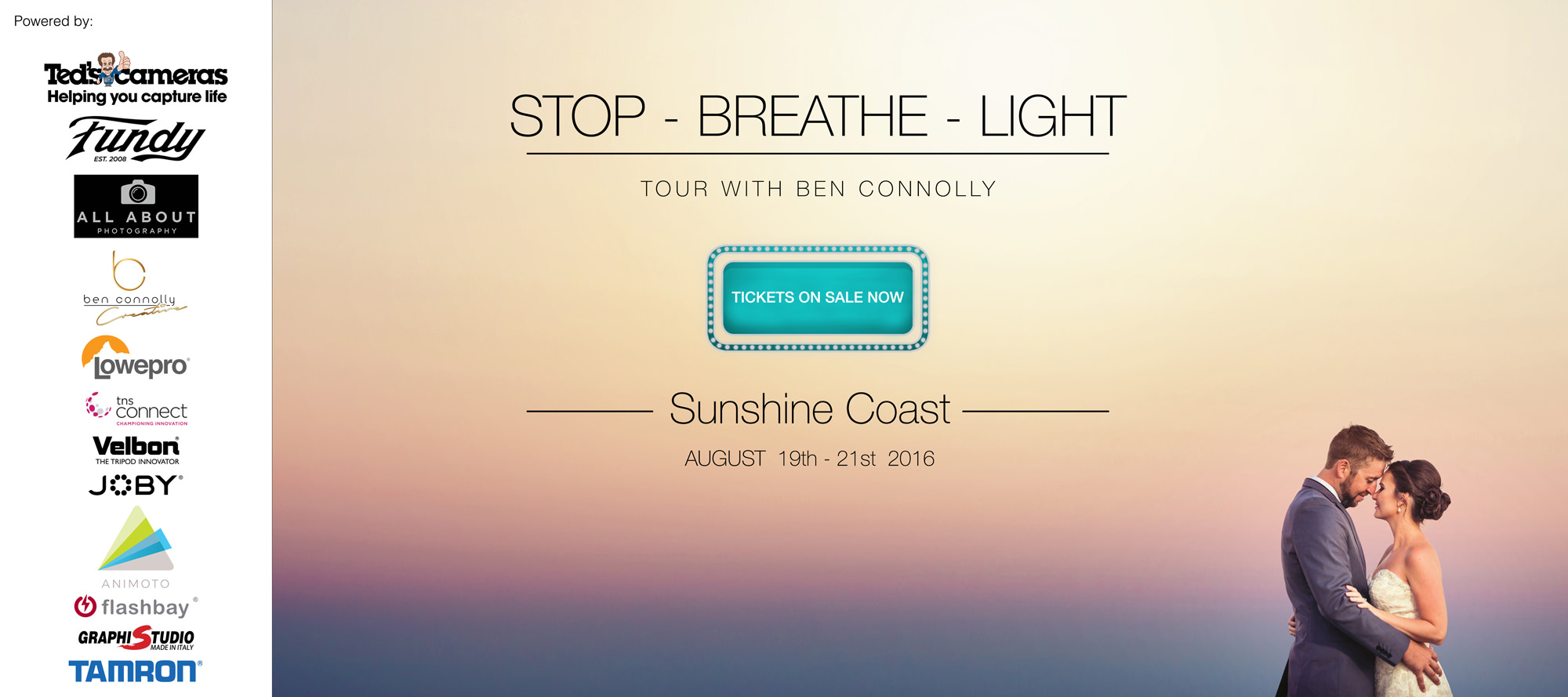 Stop – Breathe – Light – Workshop with Ben Connolly